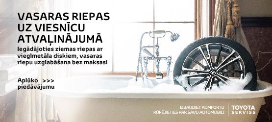 Lielisks piedāvājums ziemas riepām un Toyota diskiem!