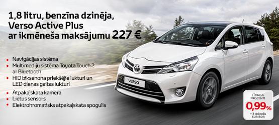 Izdevīgs piedāvājums Toyota Verso