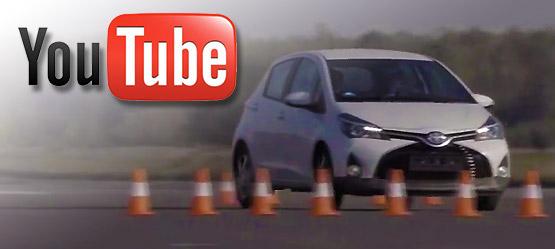 System stabilizacji toru jazdy – Toyota Yaris