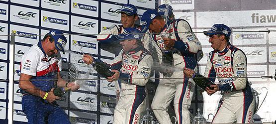 Dominacja Toyoty w serii wyścigów długodystansowych
