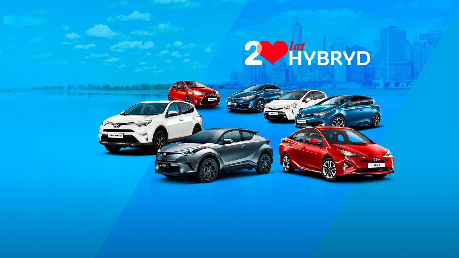 Toyota Business Plus - Poznaj Hybrydy