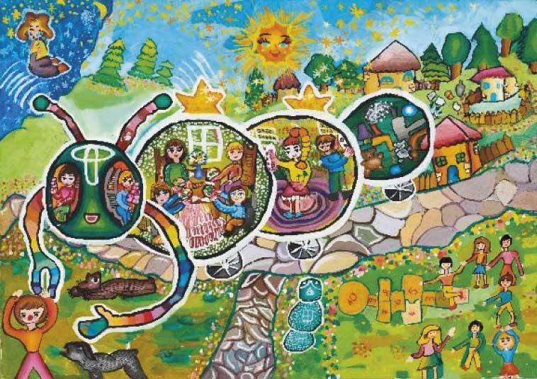 Глобальный конкурс детского рисунка - Toyota «Автомобиль мечты» - впервые в России