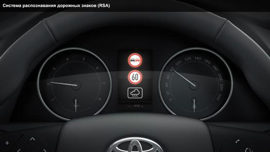 Система распознавания дорожных знаков (RSA)