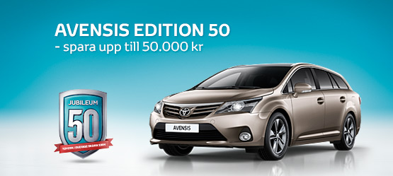 Avensis EDITION 50