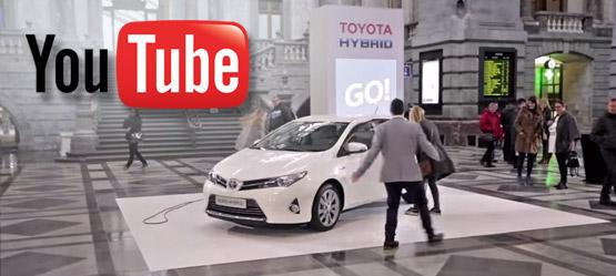Eksperiment s Toyota hibridi