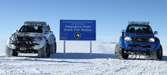 Toyota Hilux підкорює Південний полюс