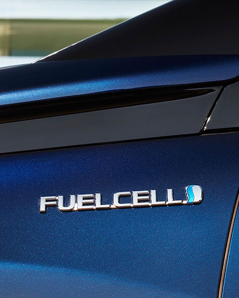 Mirai, Fuel Cell, driving, Germany, fuel cell badge