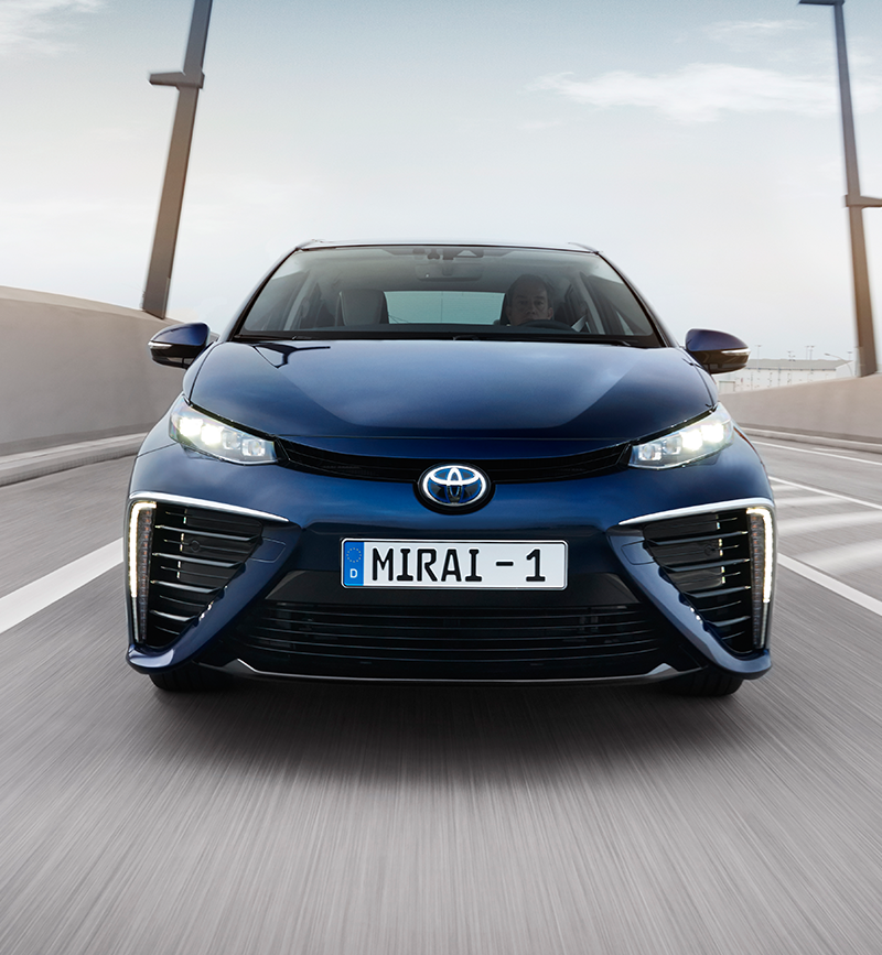 Mirai, Fuel Cell, driving, Germany,front image