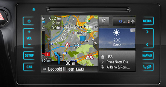 the new toyota touch 2 multimedia system. Black Bedroom Furniture Sets. Home Design Ideas