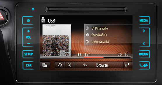 Toyota | Het nieuwe Toyota Touch® 2 multimedia systeem