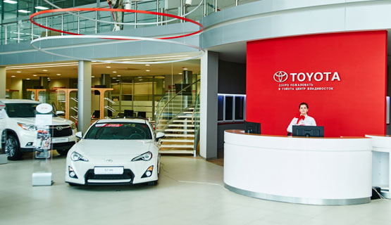 Тойота банк во владивостоке