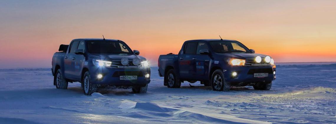06/02/2018 Испытан Крайним Севером: очередной рекорд Toyota Hilux для книги Гиннесса