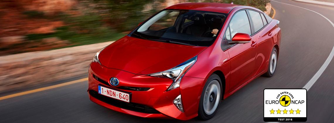 22/12/2016 Новый Toyota Prius признан самым безопасным автомобилем 2016 года