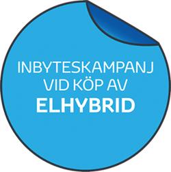 Inbyteskampanj vid köp av Elhybrid