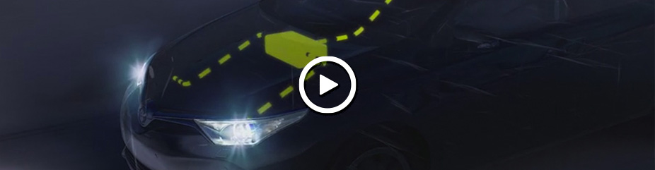 Toyota Safety Sense : Automatic High Beam