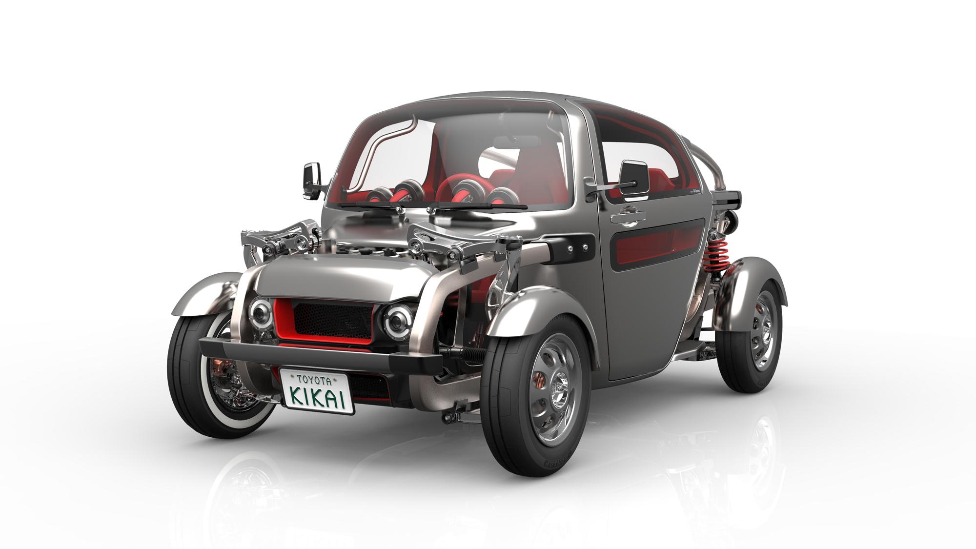 Toyota FT-4X: необычный концепт-кар для искателей приключений